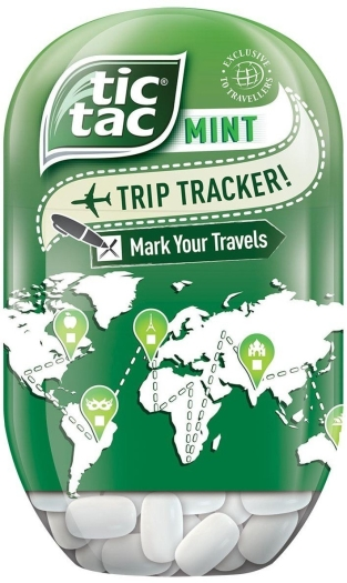 Tic Tac Bottle Mint 98g