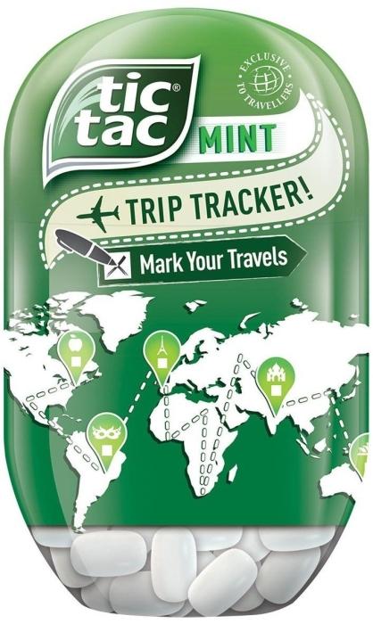 Tic Tac Bottle Mint 98g
