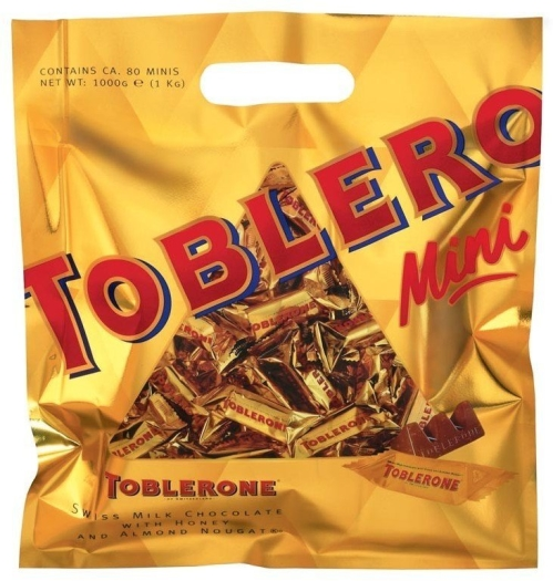 Toblerone Gold Minis Family Pack 1000g
