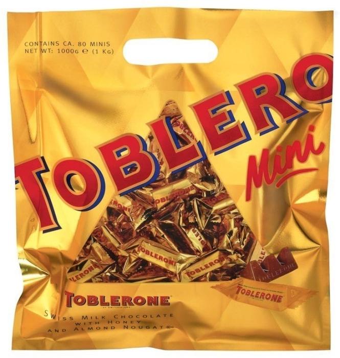 Toblerone Gold Minis Family Pack 1000g