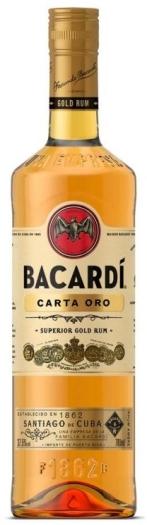 Bacardi Carta Oro 0.5L