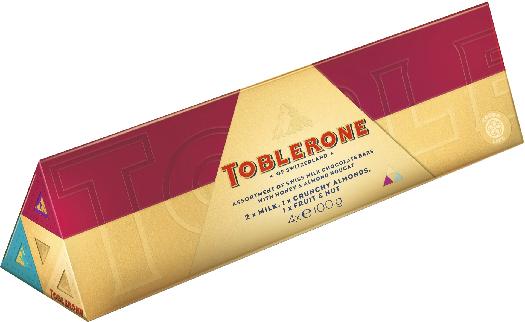 Toblerone Bundle Fruit Collection 4 x 100 g
