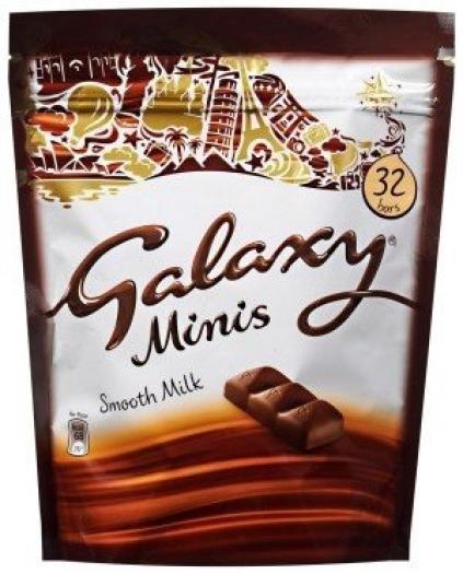 Galaxy Milk Pouch 400g