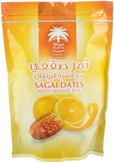Siafa Sagai Dates with Orange Peel 280g