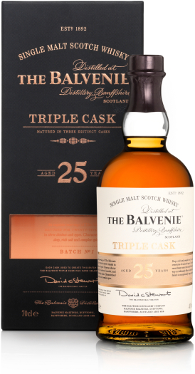 Balvenie Triple Cask 25y 40% 0.7L