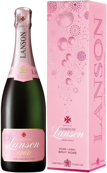 Lanson Rose Label 0.75L