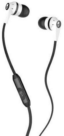 Skullcandy Ink'd 2.0 In-Ear Headphones with Mic - Black and White 22.6 g