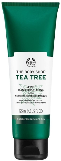 The Body Shop Tea Tree 3-in-1 Wash Scrub Mask 125ml