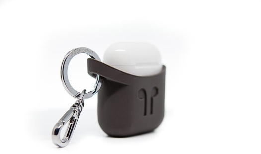 PODPOCKET- Airpods Case Cocoa Gray