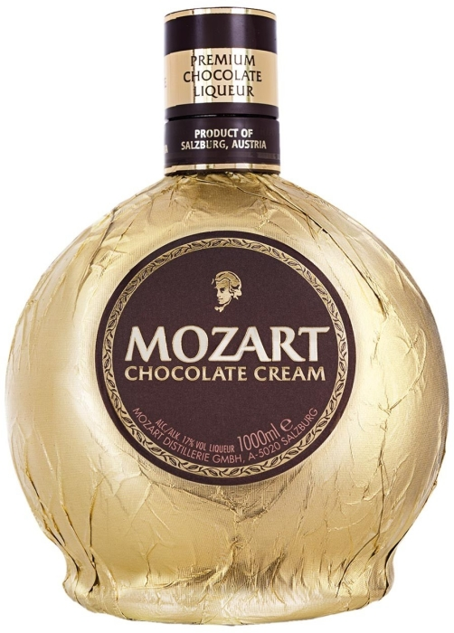 Mozart Chocolate Cream 17% 1L