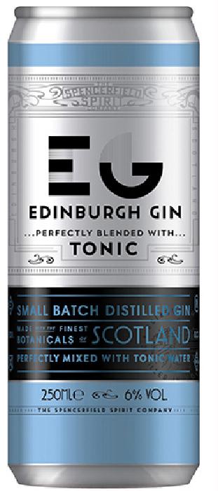 Edinburgh Gin and Tonic 6%
