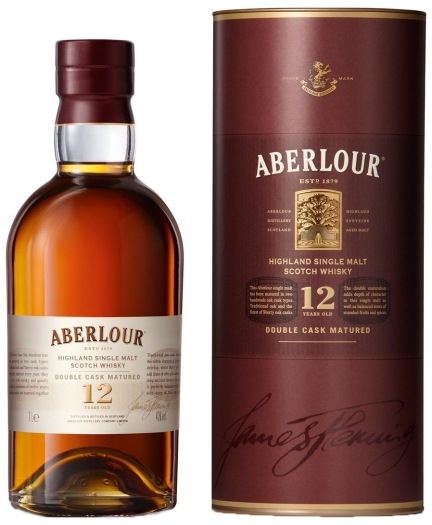 Aberlour 12 Years Old Double Cask Whiskey 1L
