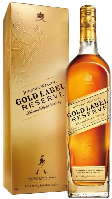Johnnie Walker Gold Label Reserve Whiskey 1L