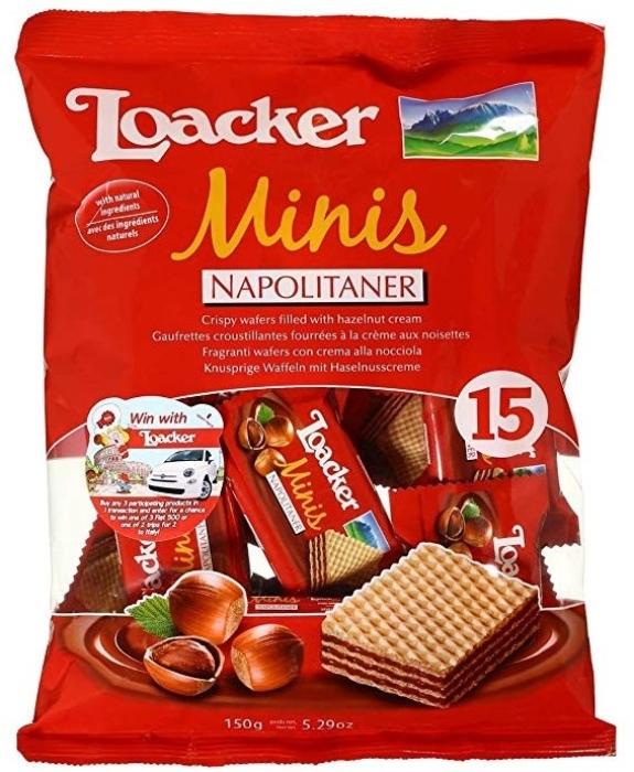 Loacker Classic Minis Napolitaner 150g