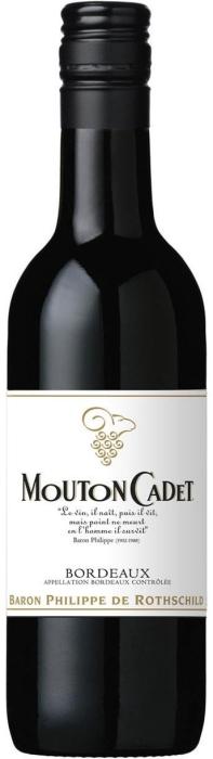 Baron Philippe de Rothschild Mouton Cadet Bordeaux AOC 0.187L