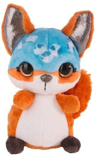 Nicidoos, blinking icecube fox