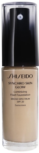 Shiseido Synchro Skin Glow Luminizing Foundation Neutral 3 30ml