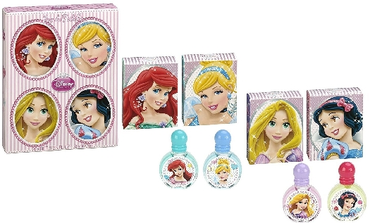 Disney Princesses Set Miniatures EdT 4x7ml