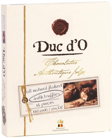 Duc d'O Truffles milk box 200g