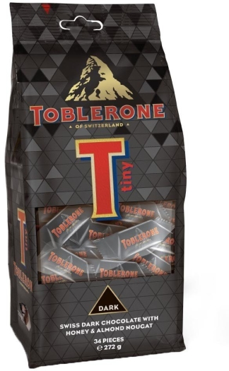 Toblerone Tiny Dark Bag 272g