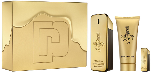 Paco Rabanne 1 Million Set 100ml+100ml+5ml