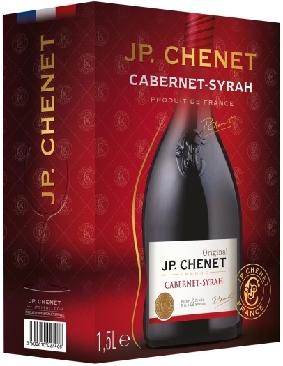 JP. Chenet Cabernet-Syrah Bag-in-Box 1.5L