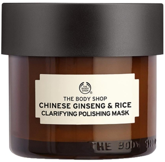 The Body Shop Remedies Of Nature Chinese Ginsend and Rice Clarifying Polishing Mask 75ml