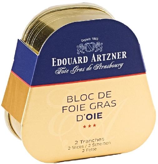 Edouard Artzner Artzner Block Goose Foie Gras 75g