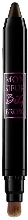 Lancome Monsieur Big Cream Crayon Eyebrow Pencil N4 Ebony 1.5g