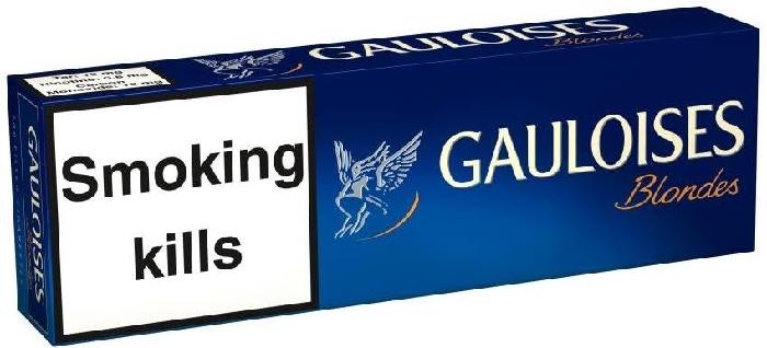 Gauloises Blondes Blue 200s LNHW