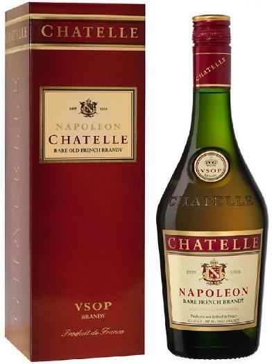 Chatelle Napoleon Brandy 40% 1L