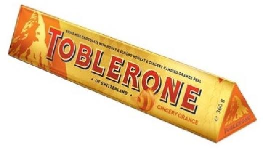 Toblerone Gingery Orange 4086566 360g