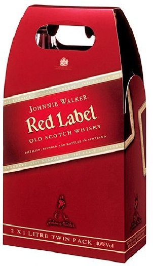 Johnnie Walker Red Label 2х1L