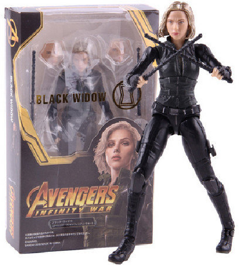 Avengers Black Widow, plastic toy figurine, E0614EW0