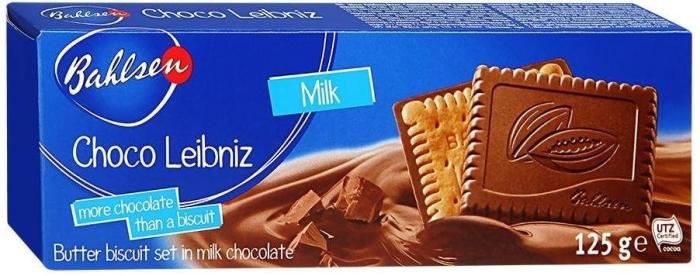 Bahlsen Choco Leibnitz Milk 125g
