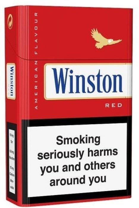 Winston Red 400s