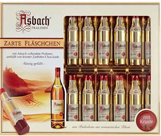 Asbach Pralinen Flaschchen Packung 250g