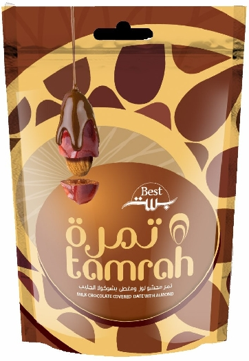 Tamrah Milk Chocolate Dates with Almound 250g