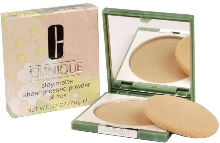 Clinique Stay-Matte Sheer Pressed Powder N02 Neutral 7g