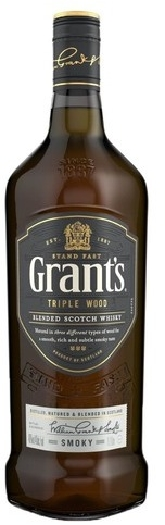 Grant's Triple Wood Smoky 1L