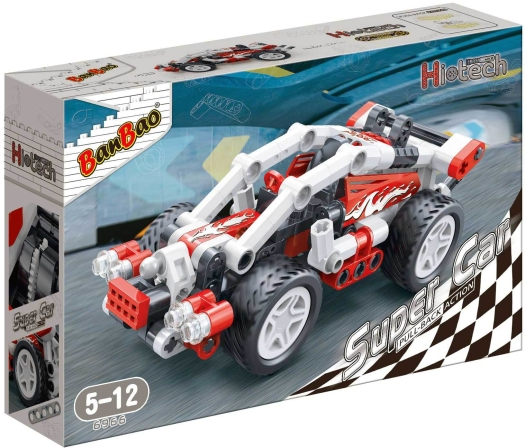 Banbao Hi Tech Super Car Flash Building Kit 140g