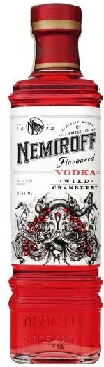 """Nemiroff """"Wild Cranberry"""" De Luxe 40% 1L"""