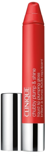 Clinique Chubby Plump Shine Lip Gloss N02 Super Scarlet 4g