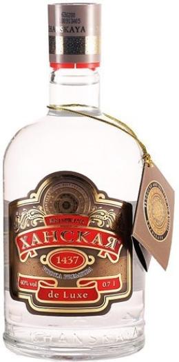 Khanskaya Vodka de Luxe Premium 1L