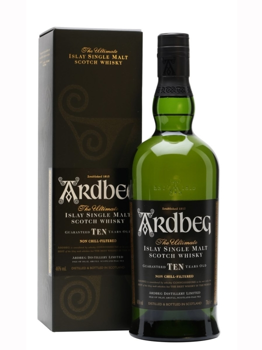 Ardbeg 10y Islay Whisky 46% 1L