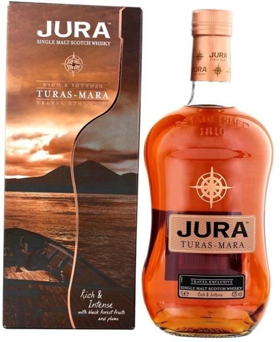 Isle of Jura Jura Turas Mara, Giftbox 1L