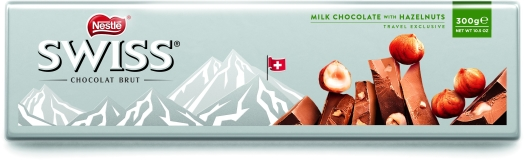 Nestle Swiss Hazelnut Tablet 300g