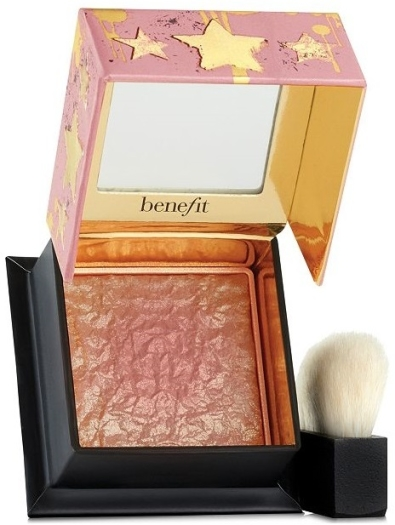 Benefit Box O' Powder Gold Rush Blush Mini 2.5g