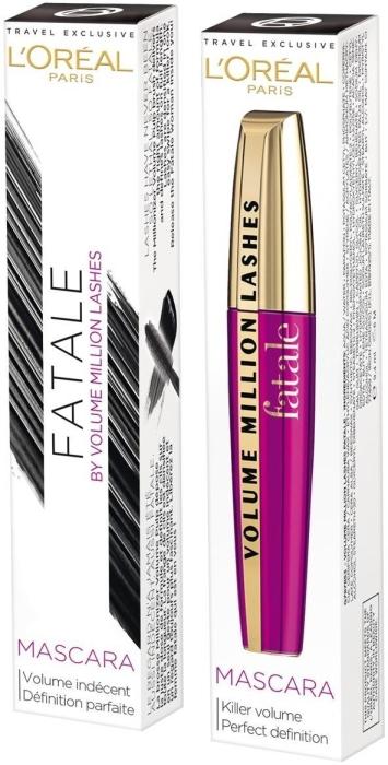 L'Oreal Mascara Fatale N01 Black 9ml