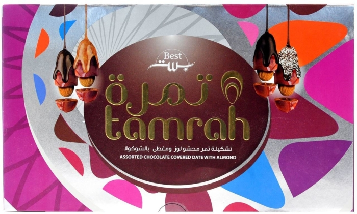 Tamrah Assorted Chocolate Covered Date With Almond 270g